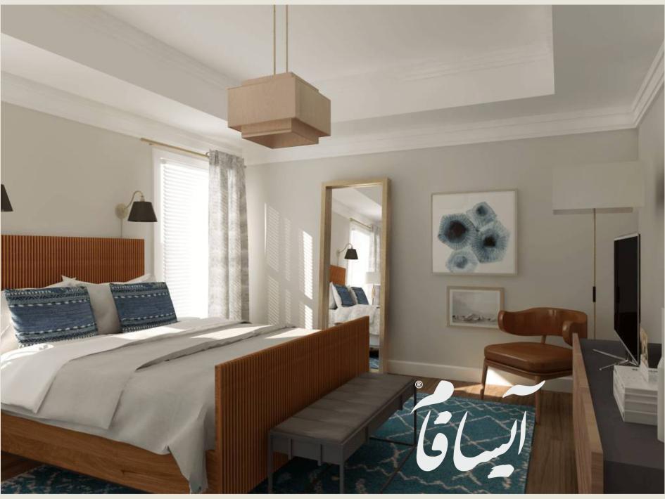 اتاق خواب دو نفره 2