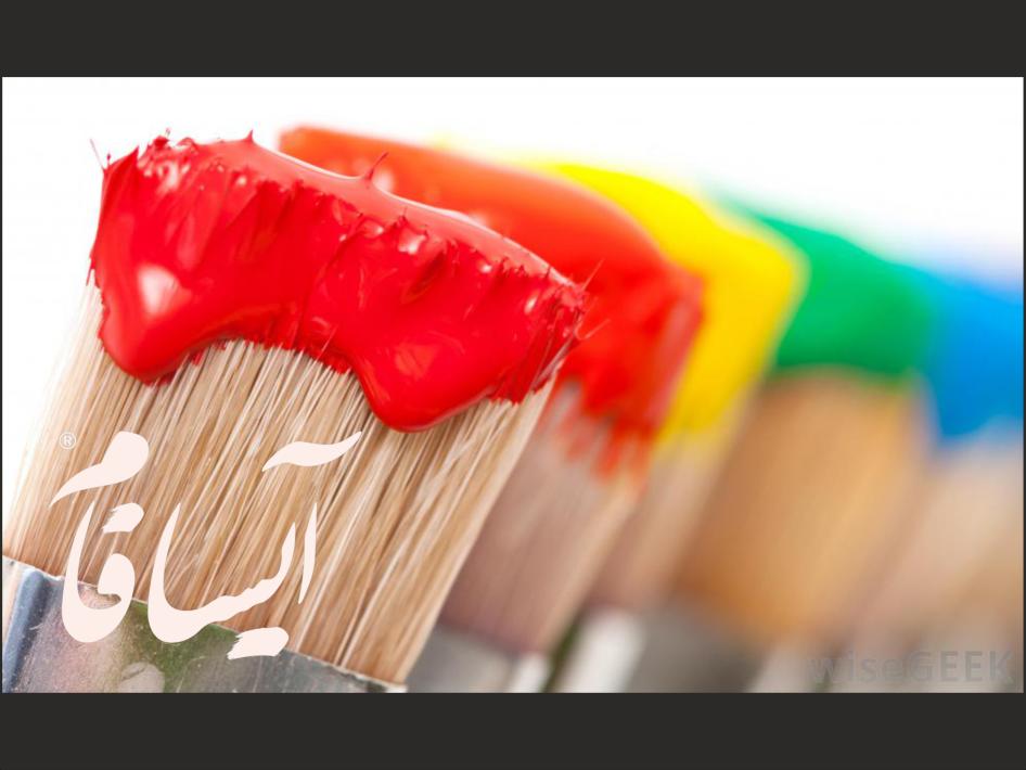 قلم مو های رنگی