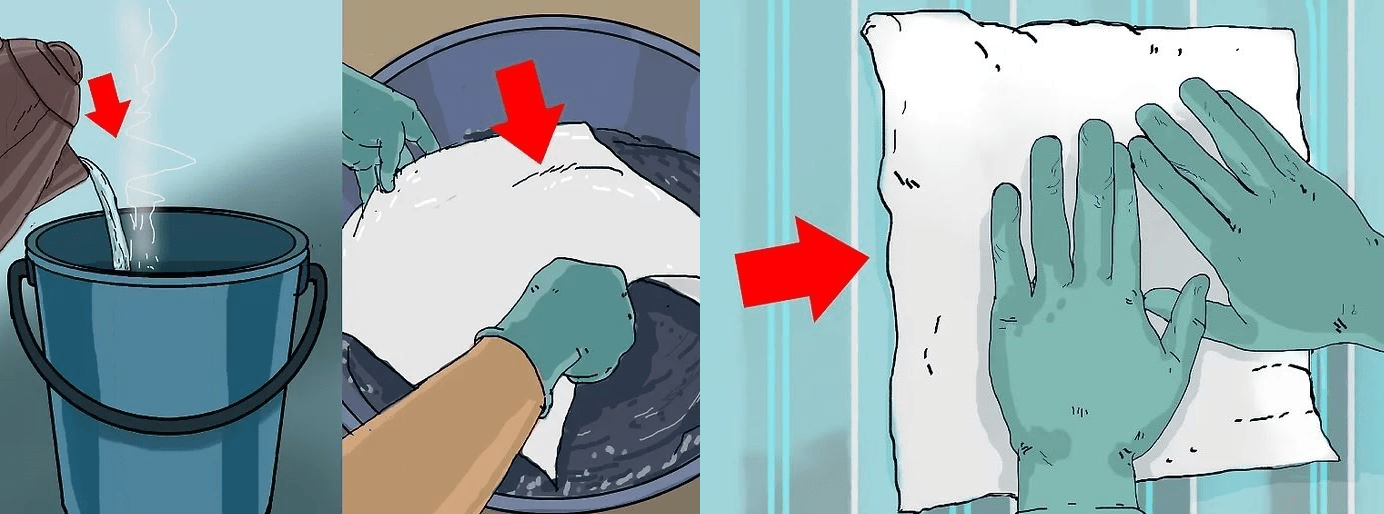 مرطوب کردن کاغذ دیواری