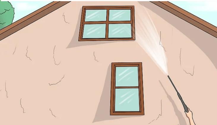 آموزش گام به گام نقاشی ساختمان (قسمت سوم آماده سازی  نمای ساختمان) 1