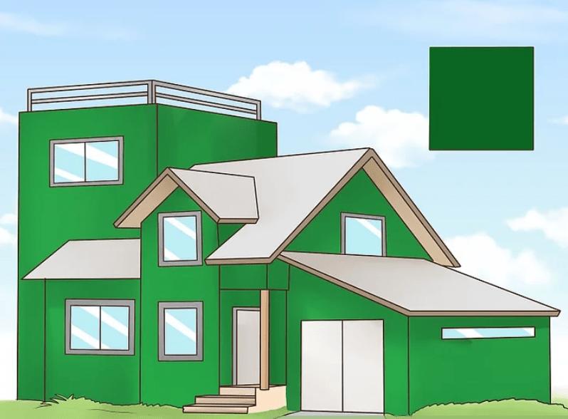 رنگ نما سبز
