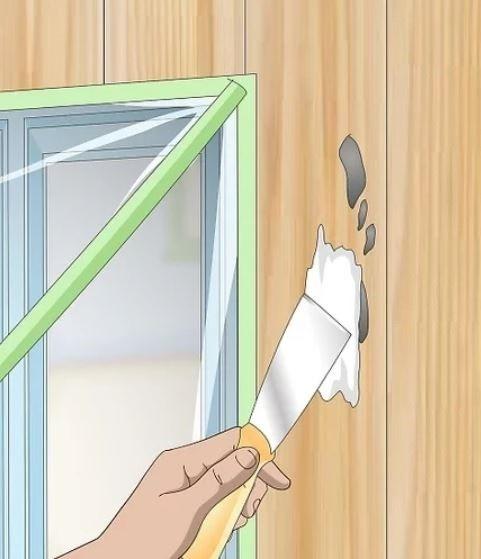 آموزش گام به گام نقاشی ساختمان (قسمت سوم آماده سازی  نمای ساختمان) 9