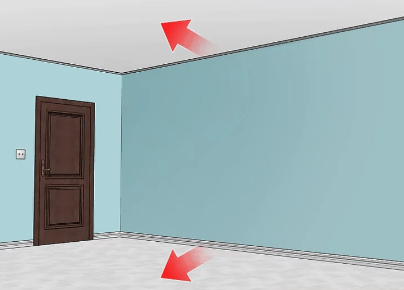 هماهنگی رنگ دیوار و سقف