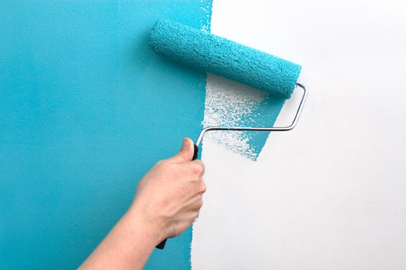 paint-roller-on-wall