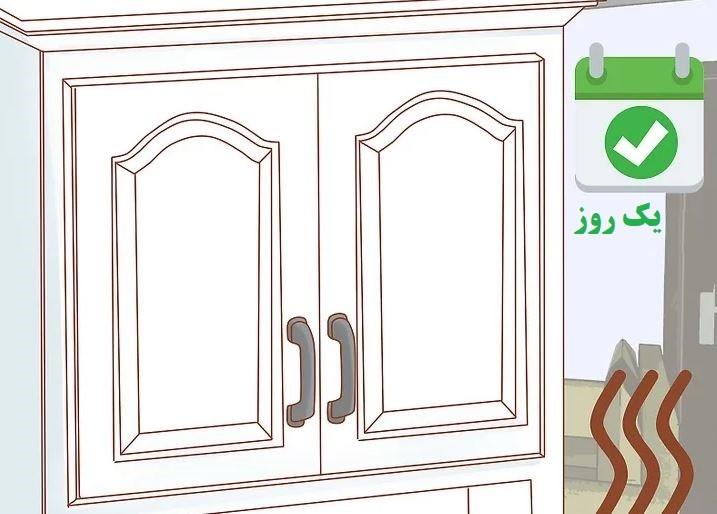 آموزش گام به گام نقاشی ساختمان (قسمت هفتم نقاشی کابینت) 10