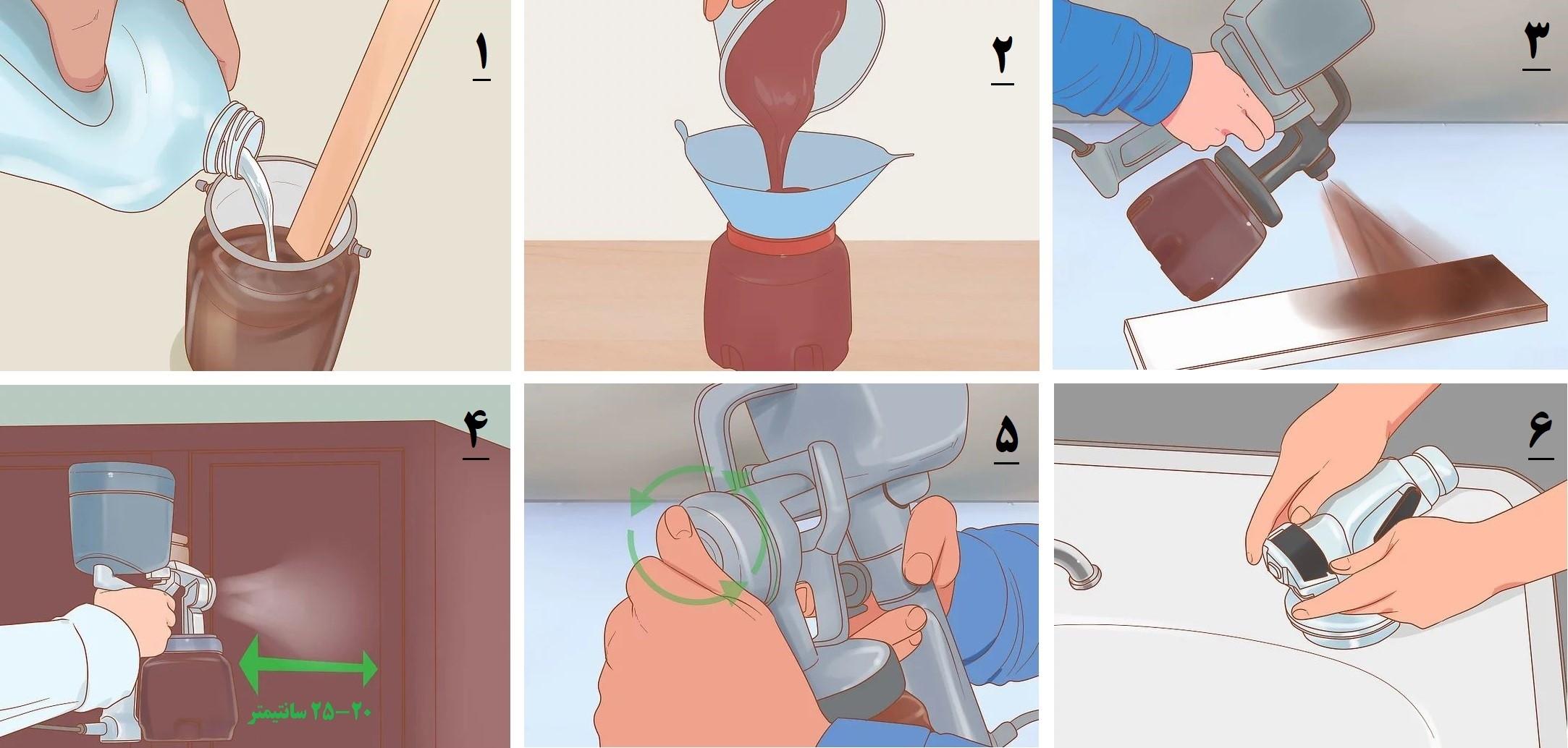 آموزش گام به گام نقاشی ساختمان (قسمت هفتم نقاشی کابینت) 12