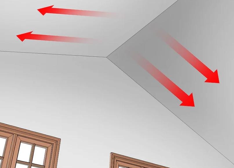 آموزش گام به گام نقاشی ساختمان (قسمت ششم نقاشی سقف) 15