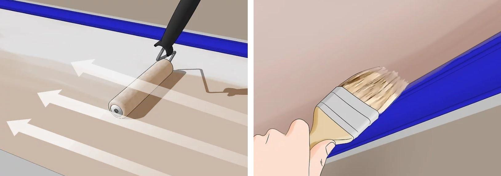 آموزش گام به گام نقاشی ساختمان (قسمت ششم نقاشی سقف) 17