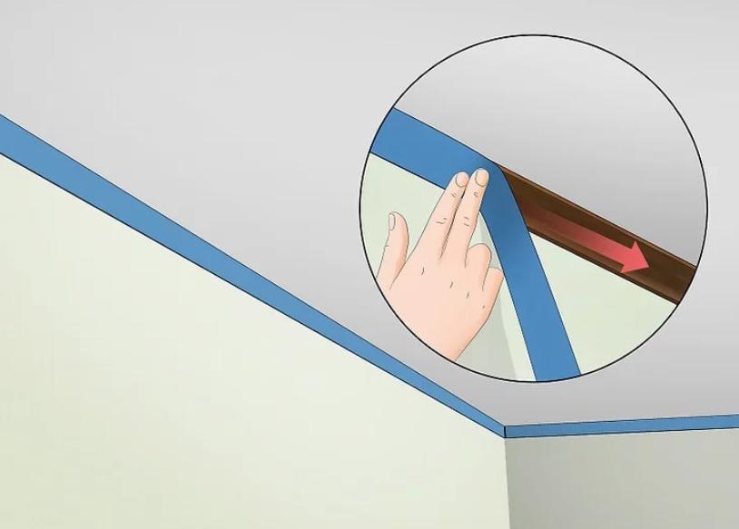 آموزش گام به گام نقاشی ساختمان (قسمت ششم نقاشی سقف) 4