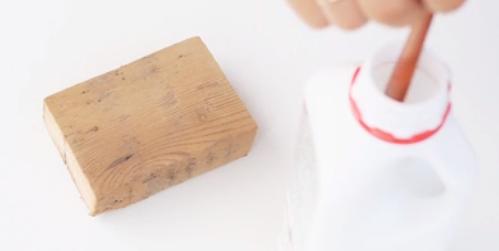 کارهای هنری با رنگ اکریلیک قسمت دوم-نقاشی روی چوب،شن و نمد 2