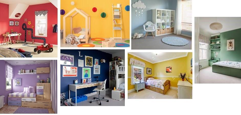 آموزش طراحی دکوراسیون داخلی (قسمت چهارم طراحی اتاق کودک و 5 قدم برای طراحی اتاق کودکان) 1