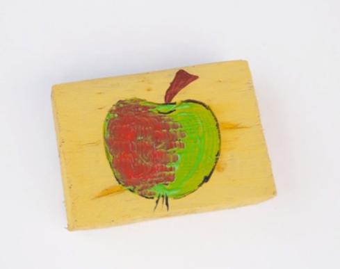 کارهای هنری با رنگ اکریلیک قسمت دوم-نقاشی روی چوب،شن و نمد 4