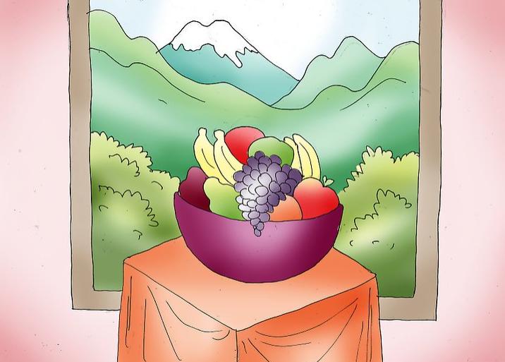 کارهای هنری با رنگ اکریلیک قسمت اول- نقاشی روی بوم در 5 قدم 8