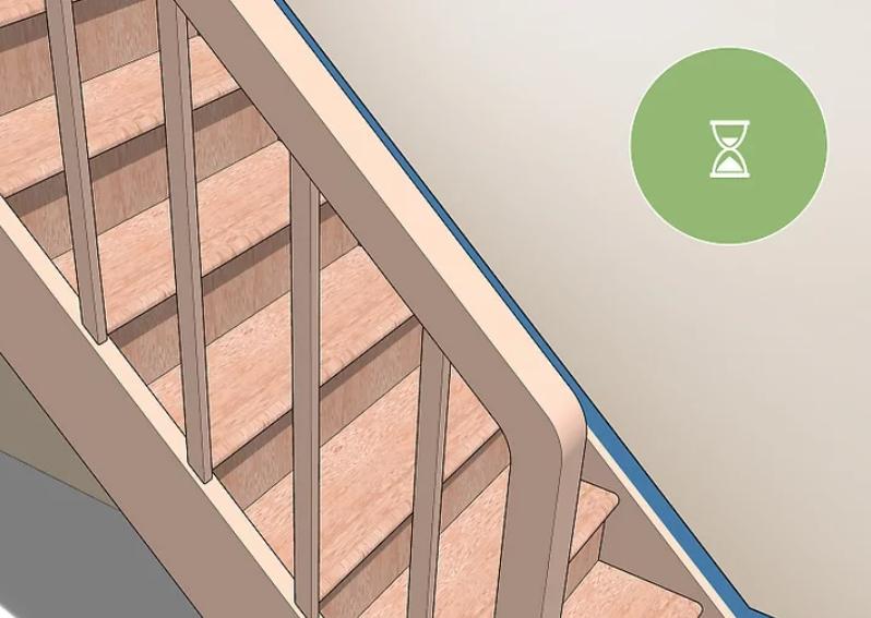 آموزش گام به گام نقاشی ساختمان (قسمت هشتم نقاشی راه پله) 11