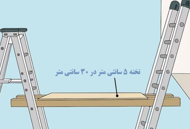 آموزش گام به گام نقاشی ساختمان (قسمت نهم  نقاشی سقف راه پله) 4