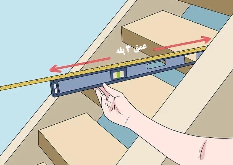 آموزش گام به گام نقاشی ساختمان (قسمت نهم  نقاشی سقف راه پله) 6