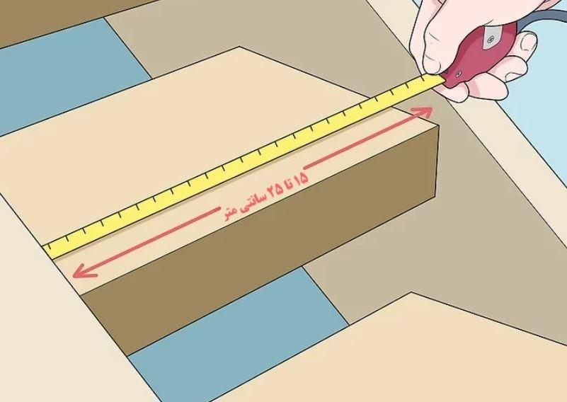 آموزش گام به گام نقاشی ساختمان (قسمت نهم  نقاشی سقف راه پله) 8