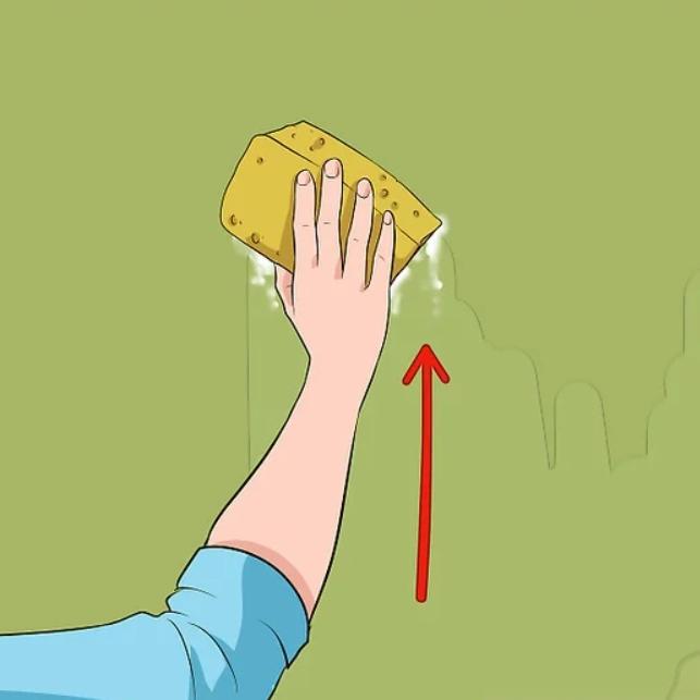 آموزش گام به گام نقاشی ساختمان قسمت یازدهم (روش های تمیز کردن دیوارها) 13