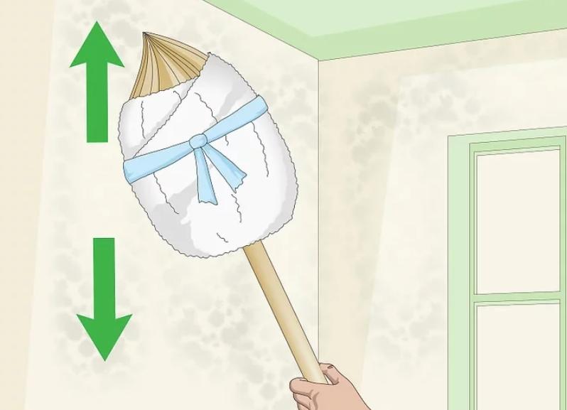 آموزش گام به گام نقاشی ساختمان قسمت یازدهم (روش های تمیز کردن دیوارها) 3