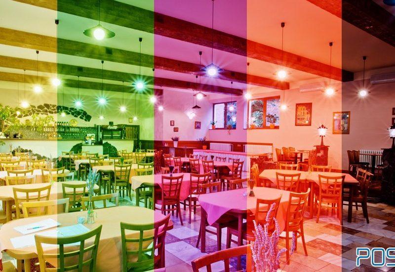 آموزش طراحی داخلی قسمت ششم (تاثیر رنگ ها در طراحی رستوران ها)