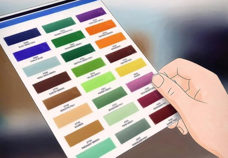 شجاعت استفاده از رنگ ها  قسمت دوم (کمک به انتخاب طیف رنگی مناسب) 9