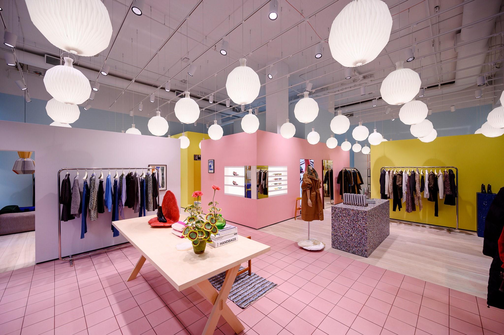 آموزش طراحی داخلی قسمت هفتم (تاثیر رنگ ها در طراحی فروشگاه ها) 1