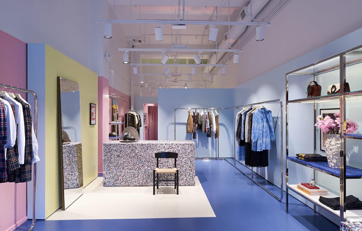 آموزش طراحی داخلی قسمت هفتم (تاثیر رنگ ها در طراحی فروشگاه ها) 2