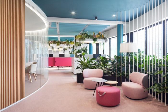 آموزش طراحی داخلی قسمت هشتم (تاثیر رنگ ها در طراحی محل کار) 9