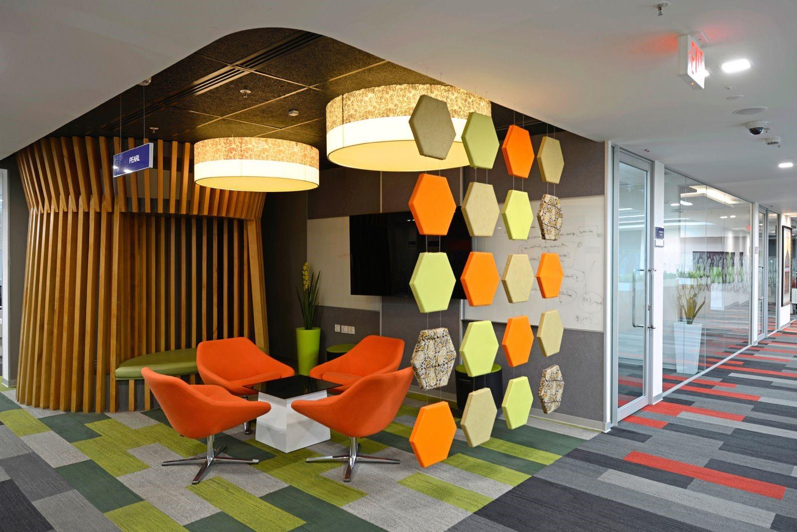 آموزش طراحی داخلی قسمت هشتم (تاثیر رنگ ها در طراحی محل کار) 17