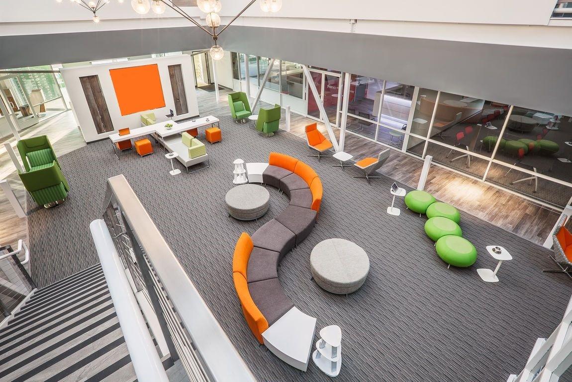 آموزش طراحی داخلی قسمت هشتم (تاثیر رنگ ها در طراحی محل کار) 1