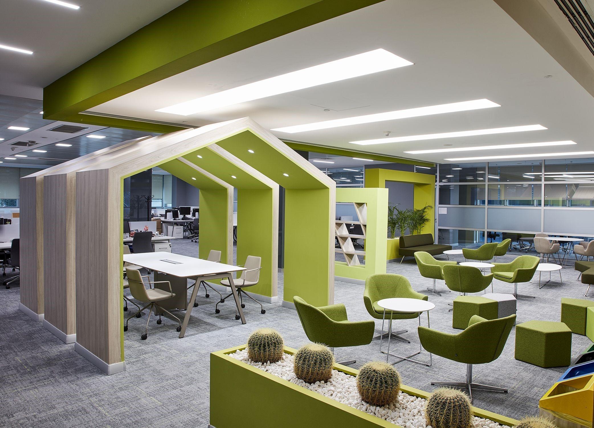 آموزش طراحی داخلی قسمت هشتم (تاثیر رنگ ها در طراحی محل کار) 4