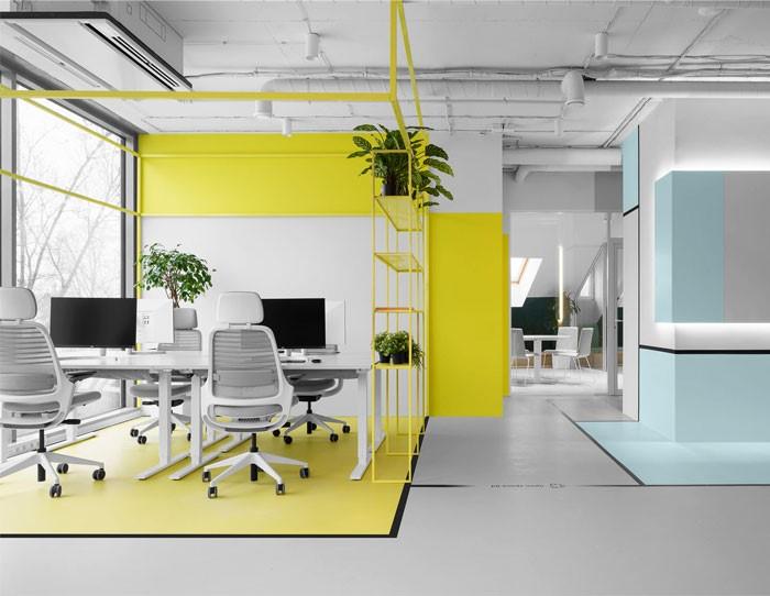 آموزش طراحی داخلی قسمت هشتم (تاثیر رنگ ها در طراحی محل کار) 5