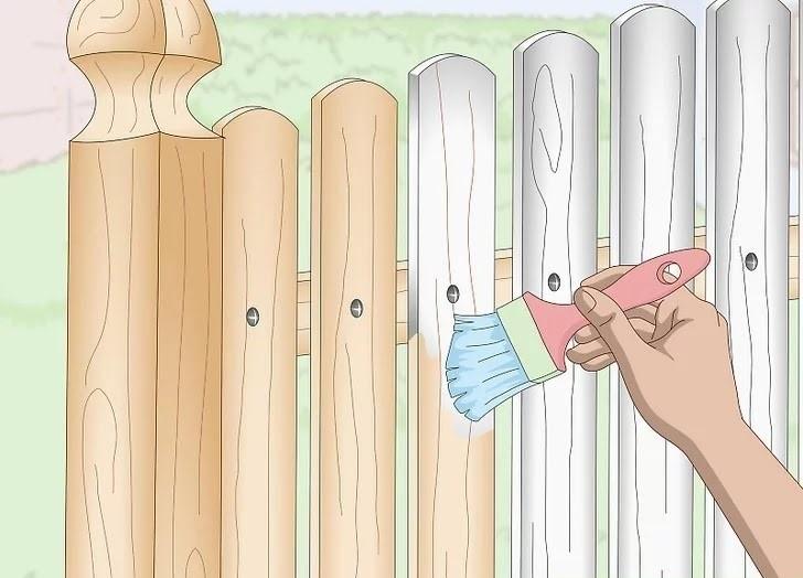 آموزش گام به گام نقاشی ساختمان قسمت سیزدهم (نقاشی نرده های چوبی و آهنی) 12