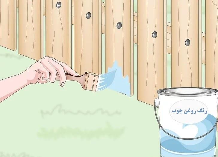 آموزش گام به گام نقاشی ساختمان قسمت سیزدهم (نقاشی نرده های چوبی و آهنی) 6