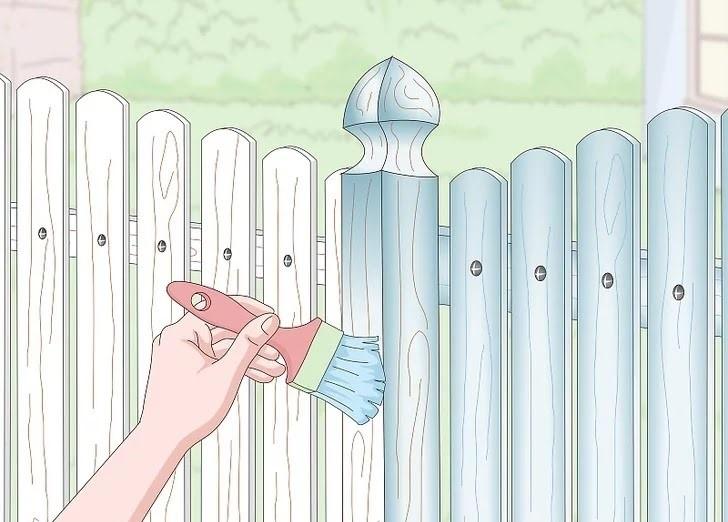 آموزش گام به گام نقاشی ساختمان قسمت سیزدهم (نقاشی نرده های چوبی و آهنی) 8